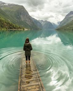 Lovatnet Lake - Norway