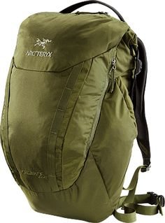 Arc'Teryx Spear 25 RollTop™ opening daypack; designed for use either in an urban environment, or light trail usage.