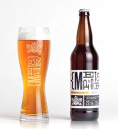 M Beer #packaging