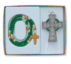 Celtic Crib Cross Rosary Gift Set Claddagh Irish Nursery Baptism Christening by McVan, http://www.amazon.com/dp/B007U8OS0S/ref=cm_sw_r_pi_dp_z-Fxrb1Y5XRNH