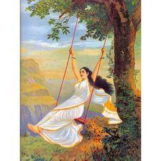 Mohini (Ravi Varma Print)