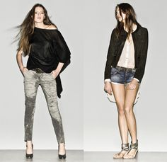 2013 Womens Spring Summer Looks   Designer Jeans Brands, Denim Fashion ...