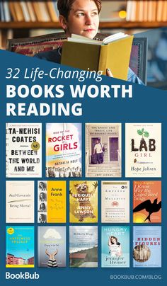 32 Nonfiction Books That Will Change Your Life Start 2019 off on a positive note with these life-changing books. These memoirs and biographies will open your mind and broaden your perspectives. I Love Books, New Books, Good Books, Book Club Books, Book Lists, Reading Lists, Books To Read Nonfiction, Books To Read 2018, Inspirational Books To Read