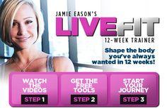 Jamie Eason LiveFit Trainer. Complete 12 week plan FREE!