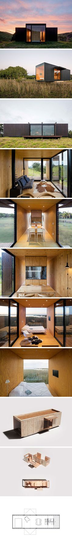 Модульный дом Minimod от MAPA Architects  #tinyhomesdigest #tinyhouse #smallhouse #ecohouse #countrylife #backyard