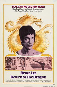 RETURN OF THE DRAGON (Bruce Lee, USA, 1974)