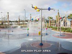 Dr. Phillips Park has a splash area too