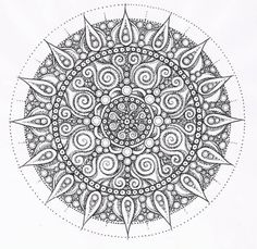 coloriage-anti-stress-mandala-gratuit-pour-adulte-29 #mandala #coloriage #adulte via dessin2mandala.com