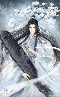 Dibujos Anime Chibi, Chibi Anime, Anime Art, Handsome Anime Guys, Anime Love Couple, Manga Games, Aesthetic Art, Chinese Art, Fantasy Art