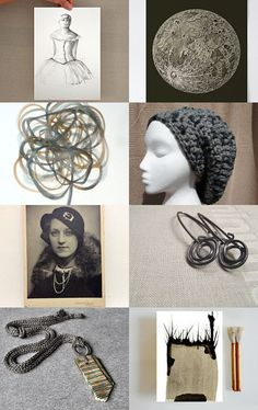 256 - Black and Beige by Ilona on Etsy--Pinned+with+TreasuryPin.com