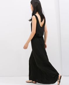 Image 3 of LONG SKIRT WITH ELASTIC WAIST from Zara