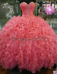 New Quinceanera Dresses Ball Gown Prom Pageant Party Dress Size Custom…