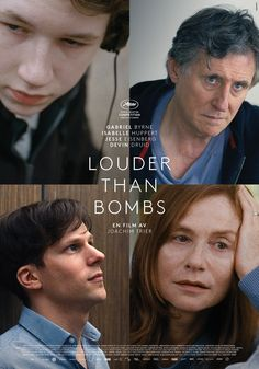 Watch: Full International Trailer & Clip For Joachim Trier's 'Louder Than Bombs' With Jesse Eisenberg & Isabelle Huppert Upcoming Movies, New Movies, Movies To Watch, Good Movies, Movies And Tv Shows, 2015 Movies, Gabriel Byrne, Isabelle Huppert, Cinema Online