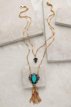 Lucid Tassel Necklace #anthrofave #anthropologie