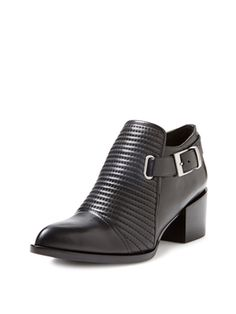 Liam Pointed-Toe Ankle Bootie from Right-Now Booties Feat. Modern Vintage on Gilt