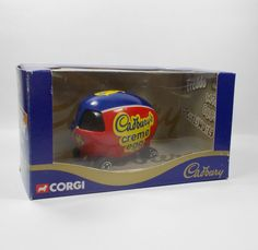 Corgi - Cadbury s Creme Egg Car - Die-cast Toy Model