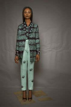"LOOKBOOK: MAKI OH PRESENTS LUXURY ""ADIRE PRINTS"" COLLECTIONS"