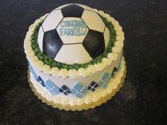 Soccer Ball Sports Cake