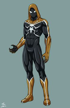 Weaver OC commission by phil-cho on DeviantArt Spiderman Suits, Spiderman Costume, Marvel Comics Art, Marvel Heroes, Avengers Coloring Pages, Spider Art, Black Comics, Superhero Characters, Shadow Warrior
