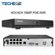 Techege 4CH 8CH Full HD Onvif 1080P 48V Real PoE NVR All-in-one Network Video Recorder For PoE IP Cameras P2P XMeye CCTV System -  Check Best Price for. This shopping online sellers give you the best deals of finest and low cost which integrated super save shipping for Techege 4CH 8CH Full HD Onvif 1080P 48V Real PoE NVR All-in-one Network Video Recorder for PoE IP Cameras P2P XMeye CCTV System or any product promotions.  I hope you are very lucky To be Get Techege 4CH 8CH Full HD Onvif…