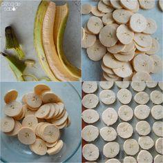 Chips caseras de plátano macho www.pizcadesabor.com