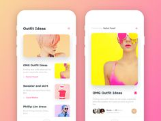 Outfit Ideas App Exploration