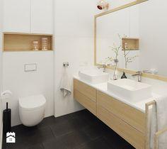 Aranżacje wnętrz - Łazienka: Łazienka na piętrze - Mohav Design. Przeglądaj, dodawaj i zapisuj najlepsze zdjęcia, pomysły i inspiracje designerskie. W bazie mamy już prawie milion fotografii!