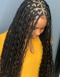 This is a new Style triangle Box braids .This style is inspired from Triangle Box braids made on Natural hair. But we can reproduce it on wig .The advantage of wig ,it saves you money, energy,time and also grants you social distance at this type .It is recreated with full lace wig This makes it appear natural .The lace wig is one size fits all with adjustable strips and comfortable bandIt is available in different colors ,and box braids it unquie made with deep wave extension to give African Hairstyles, Ponytail Hairstyles, Black Women Hairstyles, Straight Hairstyles, Kids Hairstyle, Bandana Hairstyles, Baddie Hairstyles, Dreadlock Hairstyles, Protective Hairstyles