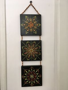 Dot Art Painting, Mandala Painting, Dotted Drawings, Fall Art Projects, Mandala Canvas, Diamond Paint, Mandala Rocks, Diy Canvas Art, Home And Deco