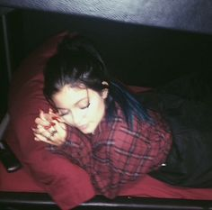 "Kylie: ""wake me when we're there"""