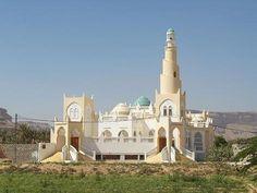 Mosque outside Tarim Yemen