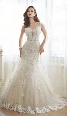 Sophisticated Sophia Tolli wedding dresses
