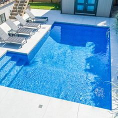 Backyard Pool Designs, Small Pools, Small Backyard Landscaping, Swiming Pool, Swimming Pools Backyard, Pool Colors, Small Pool Design, Dream Pools, Pool Houses