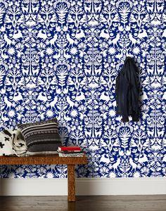 Otomi wallpaper (Emily Isabella x Hygge & West)