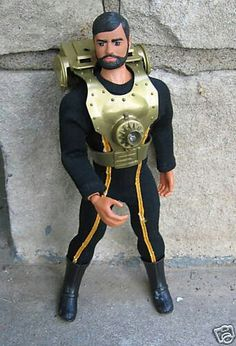 Super Joe Commander and the Power Vest - vintage action figure (first action…