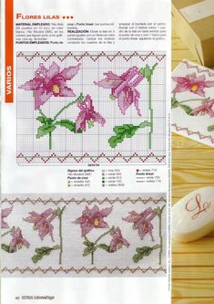 View album on Yandex. Cross Stitch Flowers, Bullet Journal, Floral, Yandex Disk, Album, Tela, Face Towel, Bath Linens, Ideas