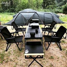 Camping Solo, Van Camping, Sport Outdoor, Outdoor Camping, Outdoor Knife, Bar Gifts, Cool Tents, Outdoor Furniture Sets, Outdoor Decor