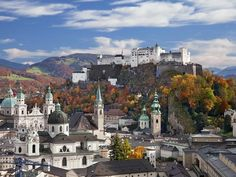 Salzburg, Austria Best Cities in the World: Readers' Choice Awards 2015 - Condé Nast Traveler Food Court, Places In Europe, Places To Visit, Sound Of Music Tour, Austria Travel, World Pictures, Like A Local, Best Cities, European Travel