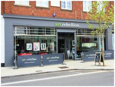 Visit our Art Gallery & Cafe Lounge in Coulsden, Surrey
