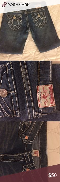 True Religion Billy Jeans Excellent Condition. Never worn! True Religion Jeans Boot Cut