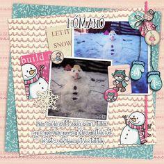 Oscraps.com :: Shop by Category :: All New :: SoMa Design: Winter Wonderland - MiniO - Cards Winter Wonderland, Scrapbook, Snow, Kit, Frame, Cards, Design, Decor, Decoration