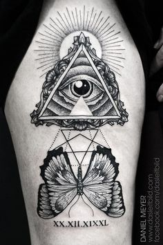 all seeing eye tattoo images - Google Search