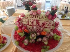 Fruit Dinner, Birthday Cake, Desserts, Food, Tailgate Desserts, Birthday Cakes, Deserts, Essen, Dessert