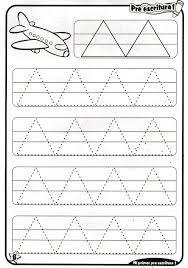 Resultado de imagen para fichas lectoescritura 4 años Line Tracing Worksheets, Printable Preschool Worksheets, Writing Worksheets, Kindergarten Worksheets, Preschool Writing, Preschool Learning Activities, Kids Learning, Activities For 2 Year Olds, Pre Writing