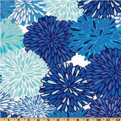 Valori Wells Wrenly Home Décor Twill Bloom Cobalt