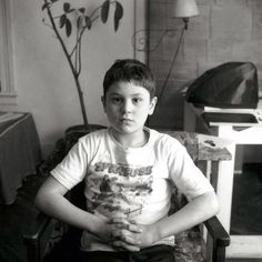 7 year old Robert De Niro.