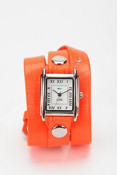 Urban Outfitters La Mer Neon Wrap Watch $98