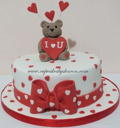 Valentine Cake I | Cupcakes By Sharon