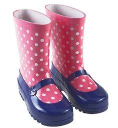 ¡Nos encantan estas botas de agua-merceditas de Prènatal!