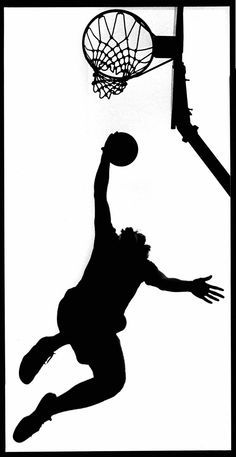Basketball players, Basketball and Wall decals on Pinterest